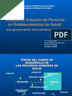 Analisis Dotacion Personal Establecimientos Salud-Carlos Rosales