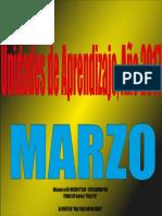 MARZO Unidades de Aprendizaje, Año 2017.