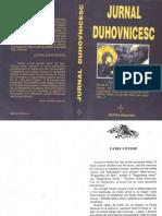 Jurnal Duhovnicesc.din Însemnările Unui Lucrător Mirean Al Rugăciunii Lui Iisus. Vol. I - 1997