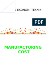 4. Manufacturing Cost