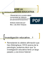 Historia de La Investigacion Educativa