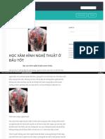 Https Lamdep24hweb Wordpress Com 2017-03-08 Hoc Xam Hinh Nghe Thuat o Dau Tot