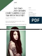 Https Lamdepdahieuquasite Wordpress Com 2017-03-08 Khoa Dao Tao Xam Hinh Co Ban Chat Luong Cao Tai Bich Nguyet