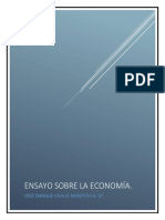 Ensayo de Economía - (José Enrique Ovalle Montoya)