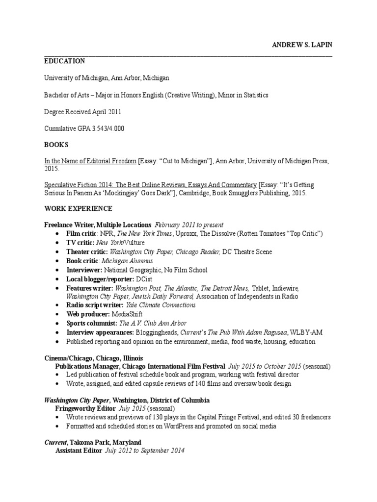 University Of Michigan Essay 1984 art professor cover letter