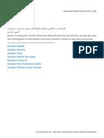 Download Kitab Ahlussunnah [.PDF]