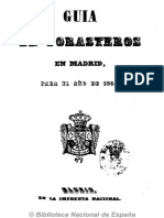 Guía de Forasteros en Madrid. 1854