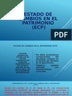 Estado de Cambios en El Patrimonio (Ecp) - HECTOR LUQUE