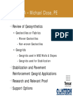 Michael Close - Geosynthetics