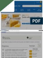 Gastro Vijesti Me Recepti Torta Od Narance 572