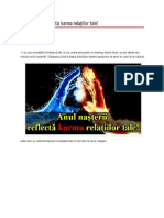Anul Nasterii Si Karma Relatiilor Tale