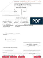 FEDERAL PRIVATE CRIMINAL COMPLAINT - in U.S. EASTERN District of Pennsylvania NOTARIZED on March 7, 2017