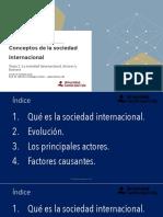 Tema 2. La Sociedad Internacional