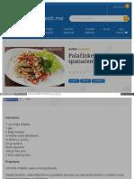 Gastro Vijesti Me Uvijek Svjeze Palacinke Sa Fetom i Spanace