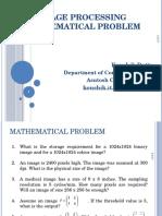 Image Processing Math Prob1