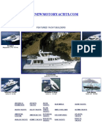 New Motor Yachts Builder Directory