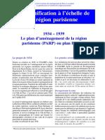 Chapitre4 de Breve Histoire de Amenagement de Paris DREIF Auteur Claude Cottour Cle05a227