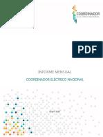 Informe Mensual CNE Ene17