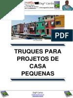 Truques Para Projetos de Casas Pequenas