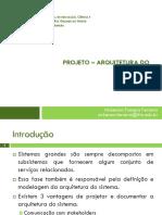 Aula 08 - Projeto Arquitetura - IfRN