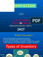 Ppt on inventory management by dev