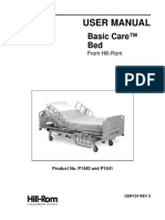 Hill-Rom Basic Care Bed - User Manual