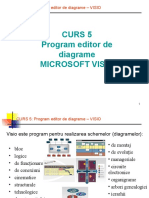 Curs 5 S1 - Program Editor de Diagrame - Visio