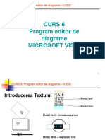 Curs 6 S1 - Program Editor de Diagrame - Visio