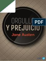 Orgullo y Prejuicio_Austen