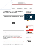 Learn Spanish video_ Juernes, learn Spanish! _ Spanish Podcast.pdf