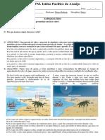 Avaliação - Temperatura, Calor e Propagação.pdf