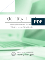 Military Members ID Theft Guide MOC2SOC