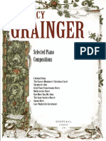 Grainger Folk Music Settings