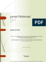Jurnal Fitoterapi Ppt Gindy
