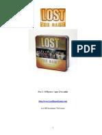 Lost Board Game Rulebook