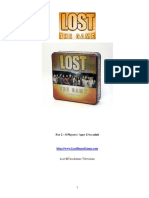 Lost Board Game Rulebook