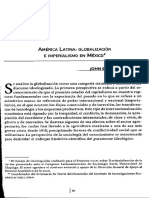 Globalización e Imperialismo en México
