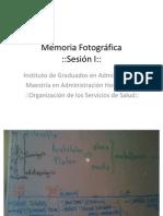 Memoria Fotográfica Sesión I