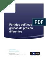 Partidos Politicos y Grupos de Presion