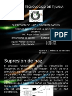 Supresion de Haz y Sincronizacion