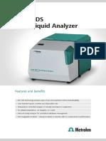 Brochure NIRS XDS RapidLiquid Analyzer