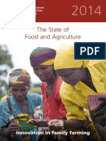 The State of Food and Agriculture (SOFA 2014) FAO