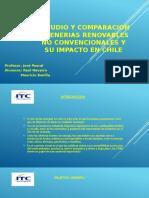 Estudio y Comparacion de Enerias Renovables No Convencionales