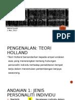 Teori Holland Widuri 020317