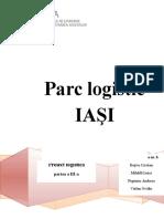 Proiect Logistică Partea a III A
