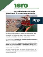 Articulo Exportaciones Colombianas