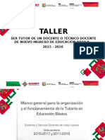 Presentacion Marco General Tutoria 2016