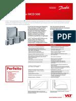Catálogo VLT Soft Starter MCD 500 - DKDDPFP550A228