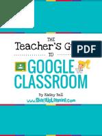 teachers guide to google classroom