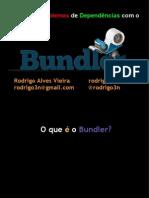 Resolvendo Problemas Com o Bundler